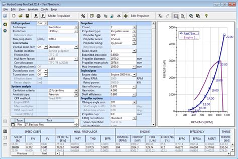 boat hull resistance calculator navcad hydrocomp