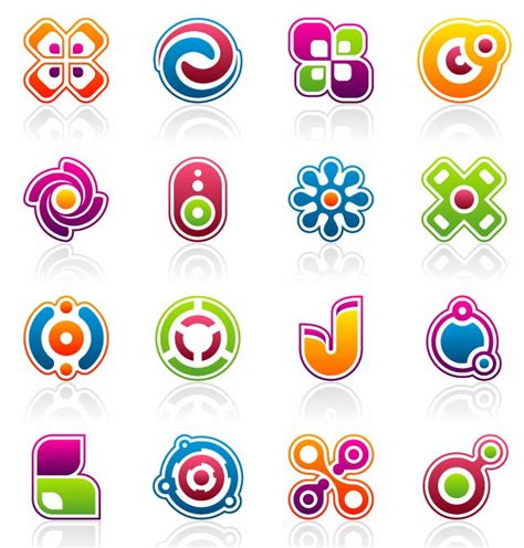 design elements company free vector colorful business design elements free