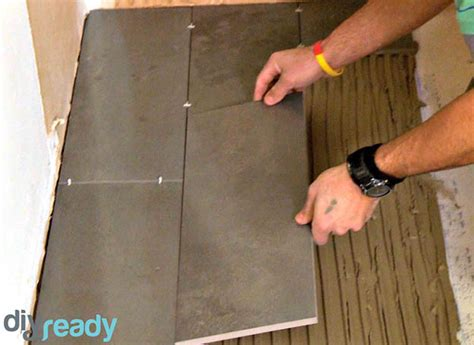 how to lay tile in bathroom diy projects craft ideas how