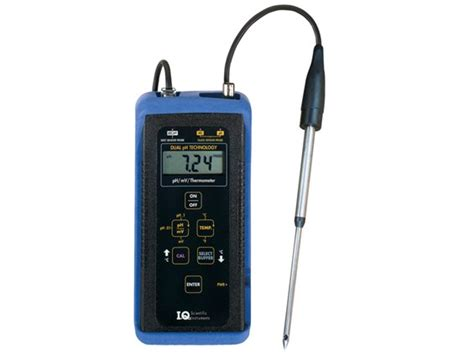 Ph Meter Iq 150 Ph Meter Spectrum Technologies