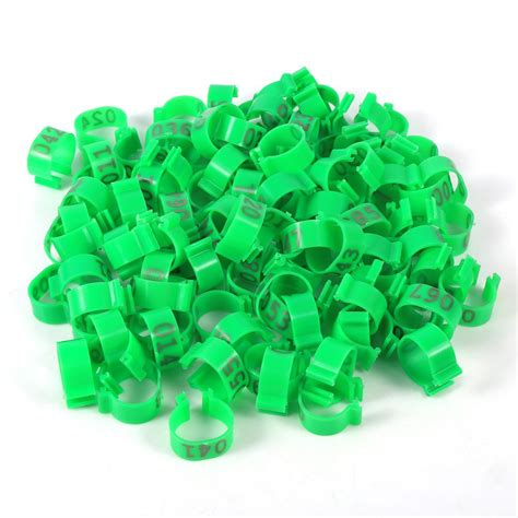 bird band number lookup 100pcs bag 16mm 001 100 number poultry chickens ducks bird goose leg band ring ebay