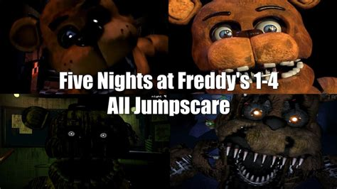 Attack On For 2 3 4 five nights at freddy s 1 2 3 4 all animatronics attack