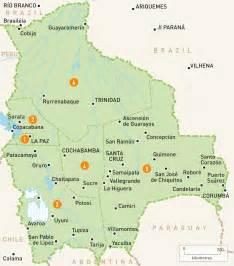 map of bolivia bolivia regions guides guides
