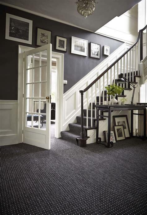decorating grey french style foyer  white wooden dado