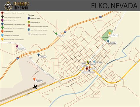 map of oregon casinos map of elko nevada oregon map