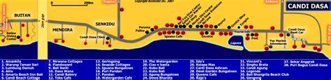 Map of Candi Dasa   Bali Blog