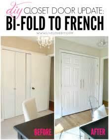 Bi Fold Vs Sliding Closet Doors Diy Closet Door Update How To Update Your Bi Fold Doors To Modern Doors Such An