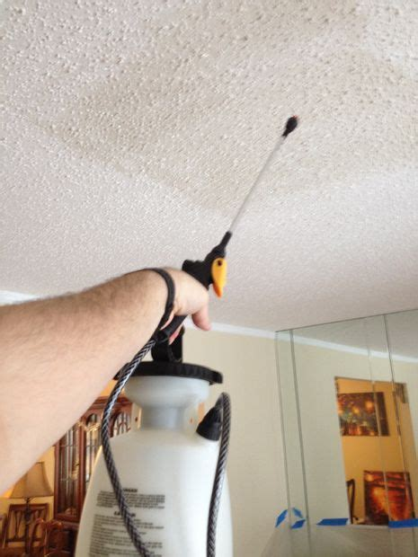 how to take popcorn ceiling save the popcorn for the theater dwelling on a dime