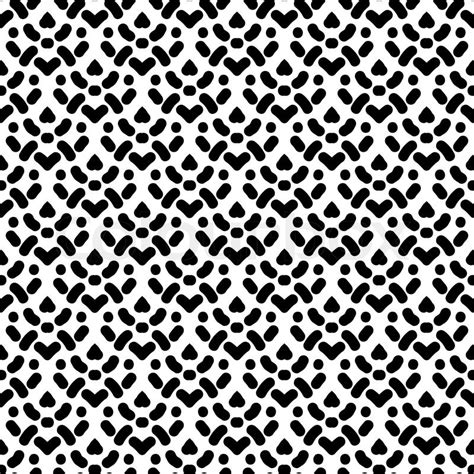 pattern simple black and white simple seamless pattern with damask motifs in black and