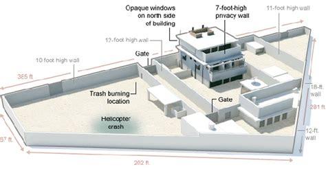 fortified home plans designing bin laden s terrorist compound designapplause