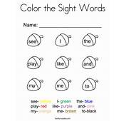 Words Coloring Pages  T8lscom