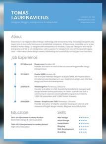 modern resume exles 2016 with objective information vs subjective modern resume templates berathen com