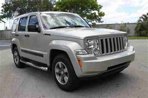 used jeep liberty 2008 purchase used 2008 jeep liberty sport us bankruptcy court