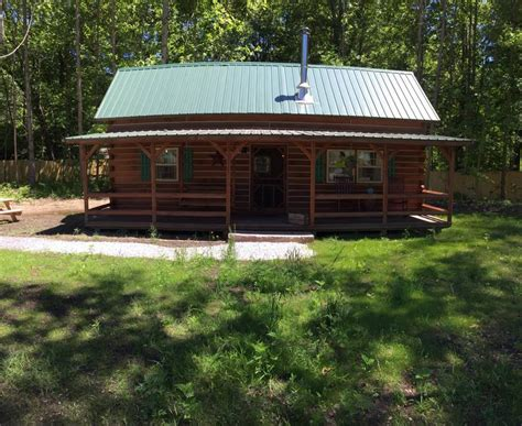 Michigan Dunes Cabins by The Acorn Log Cabin Near Warren Dunes Houses For Rent In