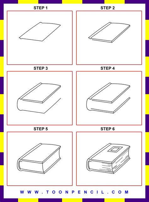 Recomended Book For Childreen The Smartes Step For Kindergarten how to draw a book step by step for 78 best drawing for images on draw how