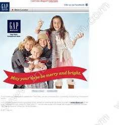 Happy Holidays From The At Gap by 1000 Images About Email Design On