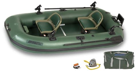inflatable boat for saltwater fishing sea eagle sts10 2 person inflatable pontoon fishing boat