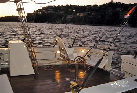 fishing boat charter sydney yackatoon boat hire private fishing charter sydney harbour