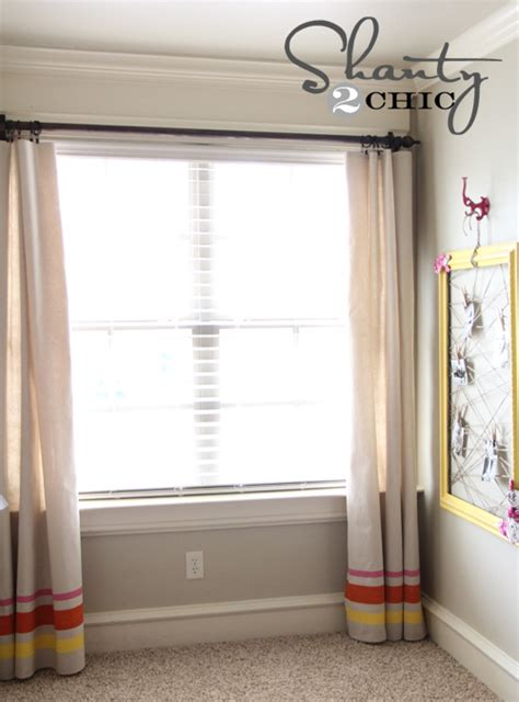 sewing drapery panels how to create window panels without any sewing hometalk