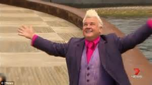 australian celebrity photographer darryn lyons celebrates first day as mayor of his hometown