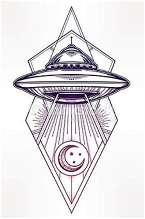 geometric ufo tattoo search for stock photos of flying saucer on thinkstock