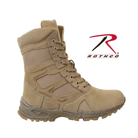 rothco boots rothco 5357 forced entry desert 8 quot deployment boots