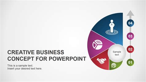 creative business template creative business concept for powerpoint slidemodel