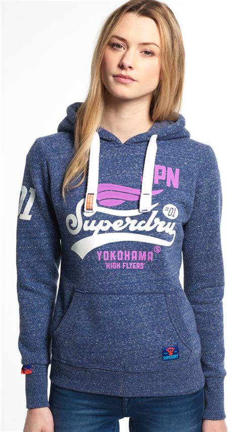 Jaket Hoodie Cherry Fanta Wash superdry womens high flyers hoodie eclipse navy