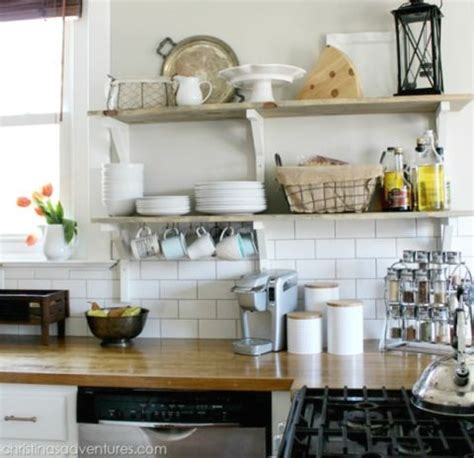 kitchens with open shelving ideas kitchen open shelving why open shelving works