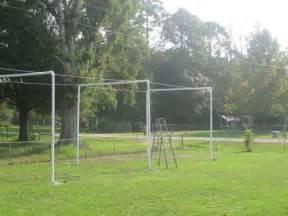 Backyard Baseball Batting Tips Pvc Batting Cage Living At The Whitehead S Zoo