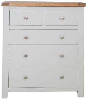Chest Of Drawers Perth by Buy Perth Grey Chest Of Drawer Wide 7 Drawer