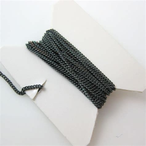 bulk chain for jewelry sterling silver tiny curb chain by the foot