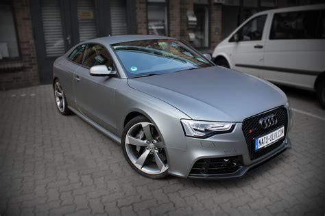 Autofolie Grau Metallic by Audi Rs5 In Gunmetal Metallic Matt Nato Oliv