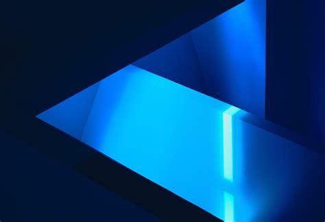 wallpaper blue geometric art abstract geometric blue dark background wallpaper