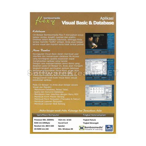 Aplikasi Basis Data Dengan Visual Basic Net Cd I Ketut Darmayuda bamboomedia cd tutorial aplikasi visual basic dan