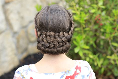 hairstyles rolled hair how to create a lace rolled updo cute girls hairstyles