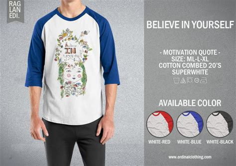 Kaos Ordinal Vespa Logo 02 Ordinal kaos raglan kutipan motivasi motivation quotes 30