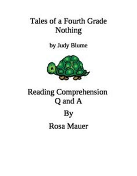 tales of a fourth grade nothing book report text analysis essay exle heathfield international