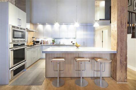 Galley Kitchens Ideas Loft In Hudson Park Tribeca 06 Myhouseidea