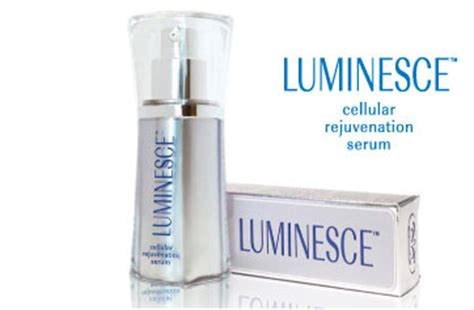 Serum Luminesce luminesce cellular rejuvenation serum