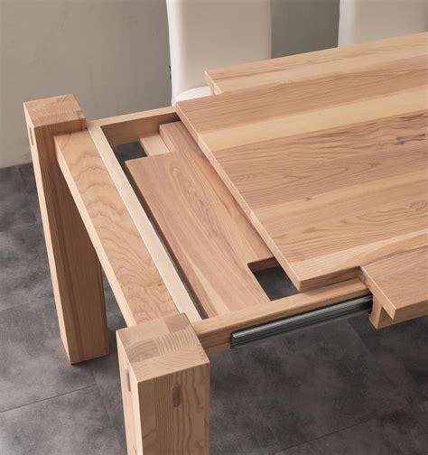 tavoli di legno allungabili tavolo in legno di frassino allungabile idfdesign