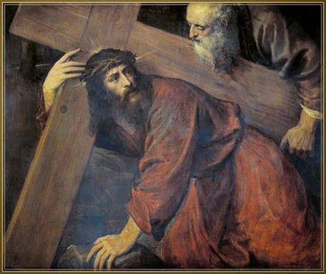 aiuto gesu a portare la croce via crucis della misericordia