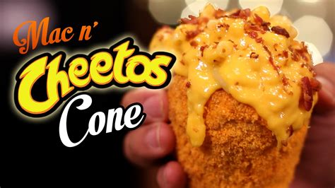 Mac N Cheetos diy mac n cheetos cone