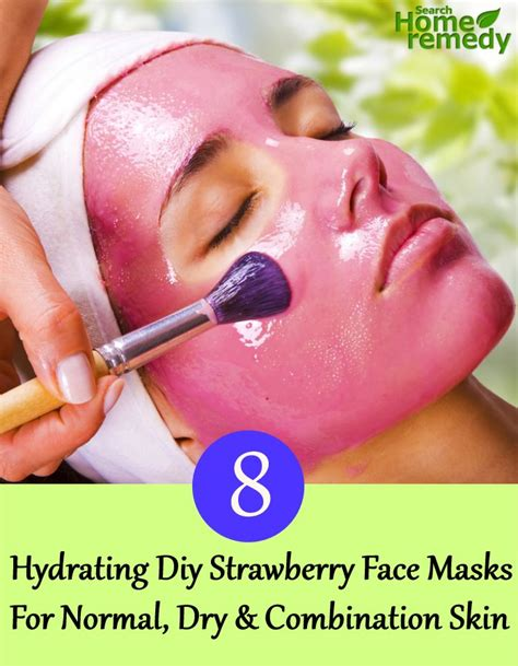 diy mask for combination skin 8 hydrating diy strawberry masks for normal and