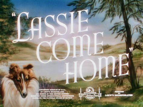 lassie come home 1943 fred m wilcox elizabeth