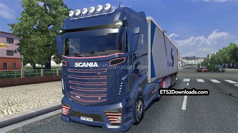 awesome truck simulator 2 scania concept r1000