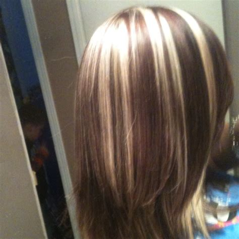 pics of beautiful chunky highlights frosted blonde highlights red and blond highlights hair i