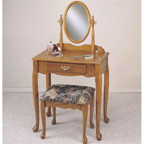vanity and bench sets oak vanity mirror bench set free shipping homecomforts com