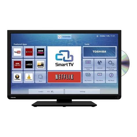 Tv Smart toshiba 32d3453 32 quot hd ready smart led tv dvd combi with freeview hd 5900496529809 ebay