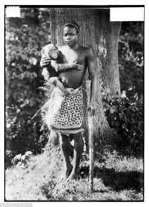 black zoo girls ota benga was caged with orangutan and on display at new